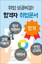 취업 성공비결! 합격자 취업문서 입사지원서,경력기술서,이력서,면접스피치