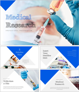 Medical Research 의학 템플릿