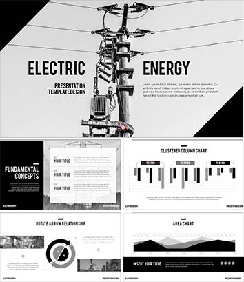 제조업 사업계획서 파워포인트 템플릿(전기)