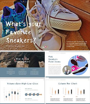 도소매업 사업계획서 템플릿(신발)